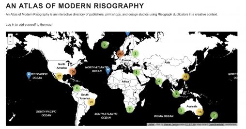 An Atlas of Modern Risography | stencil.wiki