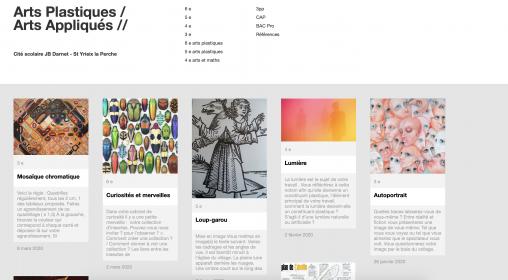 Site ressources en arts plastiques.